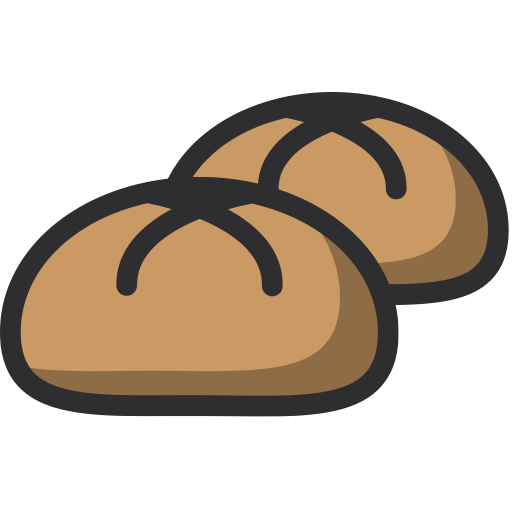 baker, bakery, bun, dessert, food icon