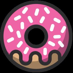 baker, bakery, dessert, donut, food icon