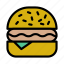 bakery, burger, fastfood, junkfood, meal