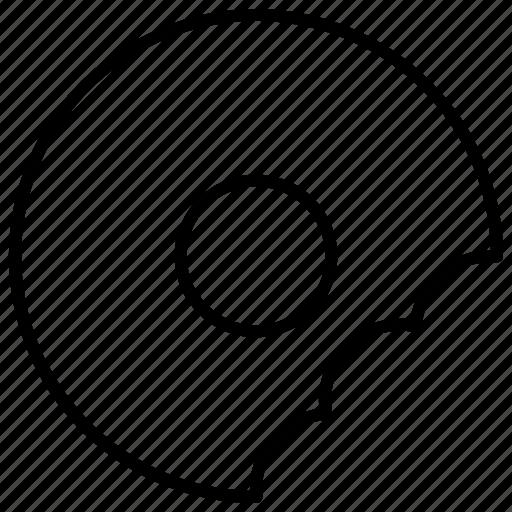 Bakery, bitten, bread, donut, doughnut icon - Download on Iconfinder