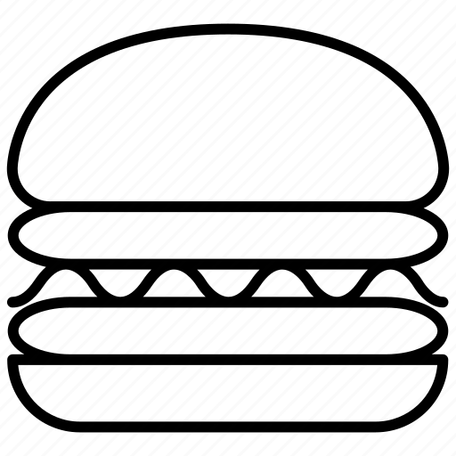 bakery, bigmac, burger, double cheese burger, fastfood icon