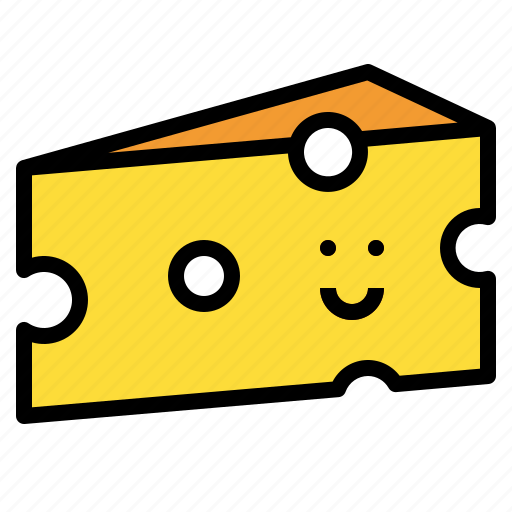 cheese, food, milk, piece icon