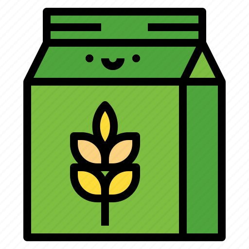 Bake, flour, food, wheat icon - Download on Iconfinder