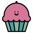 bake, dessert, food, muffin icon