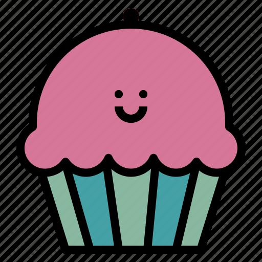 bake, dessert, food, muffin icon