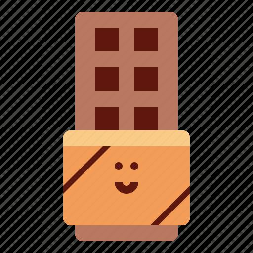 chocolate, dessert, food, snack icon