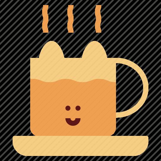 coffee, drink, mug, tea icon