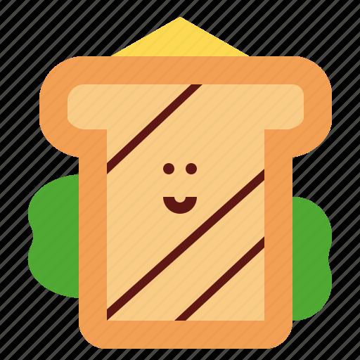 bread, breakfast, lunch, sandwich icon