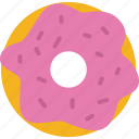 bakery, donut, doughnut, food, pastry icon