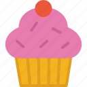 bakery, cupcake, food, pastry icon