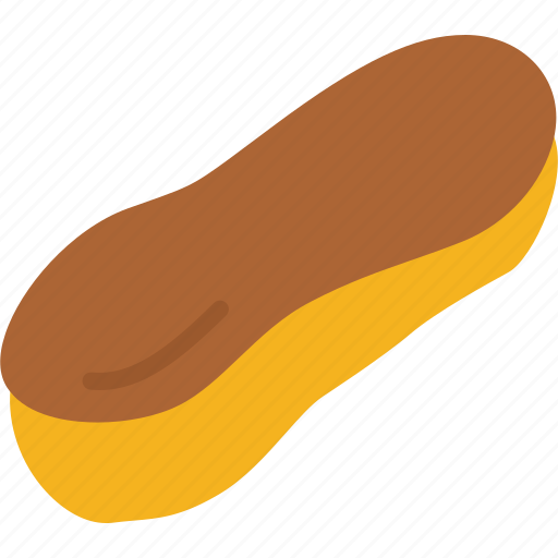 bakery, eclair, food, pastry icon