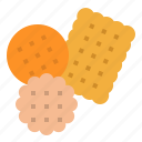baker, biscuit, cookies, dessert, food icon