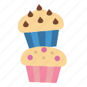 cake, cup, dessert, muffin, sweet icon