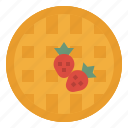 bakery, dessert, food, sweet, waffles icon