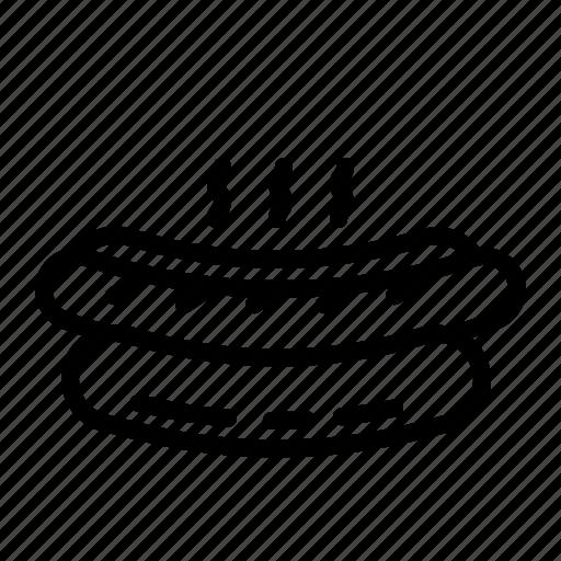 Bun, food, hotdog, junk, sausage icon - Download on Iconfinder