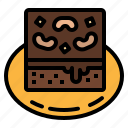 bakery, brownie, dessert, nutrition, pastry