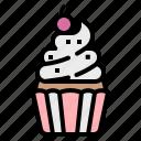 bakery, cupcake, dessert, food, sweet