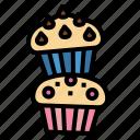 cake, cup, dessert, muffin, sweet