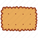 bakery, biscuit, cookies, food, pastry, snack, tasty icon