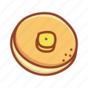 bakery, dessert, food, pancake, sweet, tasty icon
