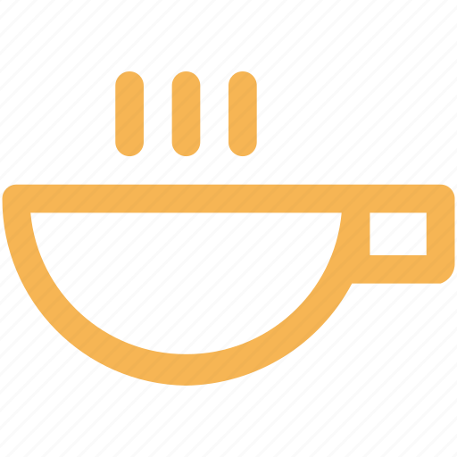 beverage, coffee, cup, drink, hot, outline icon