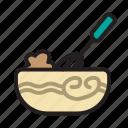 bakery, bread, dough, dough shaker, food, kitchen, shaker icon