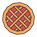 bakery, cake, cooking, dessert, food, pastry, pie icon
