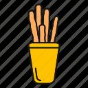 bakery, baking, bread, breadsticks, grissini, italian, sticks