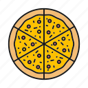 bakery, cuisine, fast food, italian, pizza, pizzeria, slice