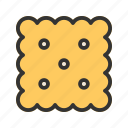 biscuit, biscuits, breakfast, delicious, food, meal, snack icon