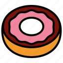 donut, dough, doughnut icon