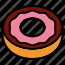 donut, dough, doughnut
