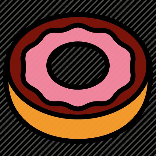 donut, dough, doughnut icon