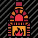 oven, stone icon