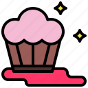 and, baked, bakery, cupcake, dessert, food, restaurant icon
