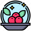 and, berries, food, herb, plant, restaurant, vegetable icon