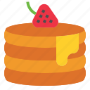 butter, pancakes icon
