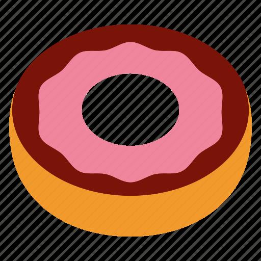 donut, doughnut icon