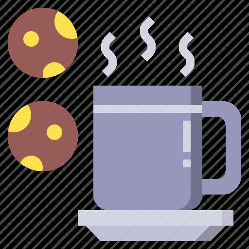 chocolate, coffee, cup, food, hot, mug, tea icon