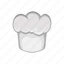 cap, cartoon, chef, cook, kitchen, mustache, restaurant icon