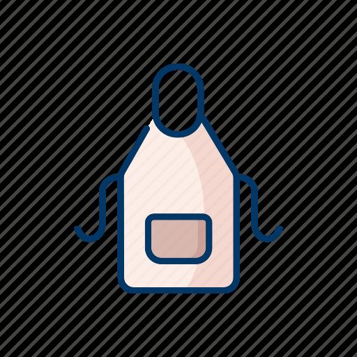 apron, cloth, kitchen, protection, restaurant icon