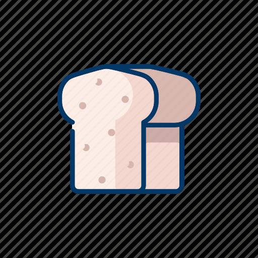 bakery, bread row, meal, stacks, toast icon