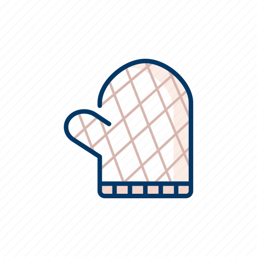 cloth, cooking glove, hand protection, kitchen, tools and utensils icon