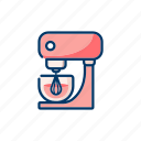 blender, cooking, electronic, kitchenware, mixer icon