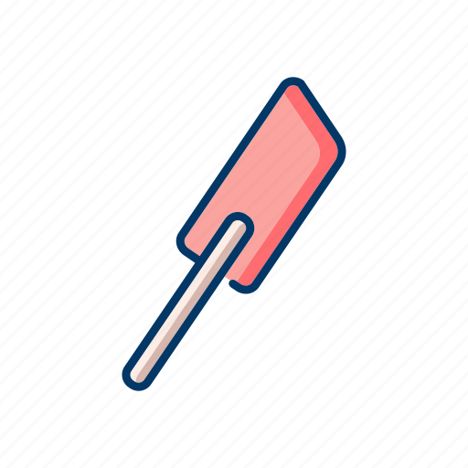 bakery, cooking, kitchen tools, scraper, spatulas icon