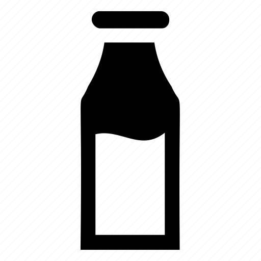 bottle, drink, glass bottle, milk, reusable bottle icon