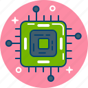 chip, computer, hardware, microchip, processor icon