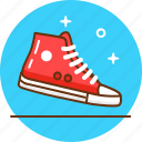 clothes, converse, footwear, hipster, keds, shoes, sneaker icon