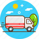 delivery, logistic, logistics, transport, transportation icon