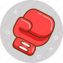 box, boxing, fight, gloves, punch icon